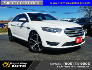2014 Ford Taurus SEL | AWD | NAV | SAFETY CERTIFIED