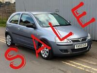 2005 VAUXHALL CORSA 1.2i 16V SXi+ [80] 3dr new MOT ready to go