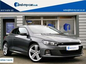 2015 64 Volkswagen Scirocco 2.0TDI ( 150ps ) R-Line With FULL VW HISTORY