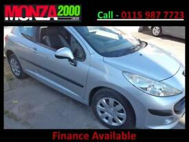 PEUGEOT 207 1.4 ( a/c ) S 3 DOOR HATCH NIL DEPOSIT FINANCE WARRANTY
