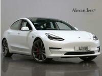 2020 Tesla Model 3 Dual Motor Performance Auto 4WDE 4dr (Performance Upgrade) Sa