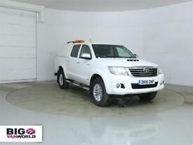 2016 TOYOTA HI-LUX INVINCIBLE 4X4 D-4D 171 DOUBLE CAB WITH TRUCKMAN TOP PICK UP
