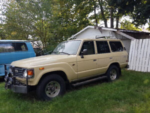 1983 Toyota Land Cruiser SUV, Crossover