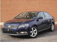 2011 11 Volkswagen Passat 2.0 TDI BlueMotion TECH SE 4dr (Blue, Diesel)
