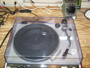 technics turntable.