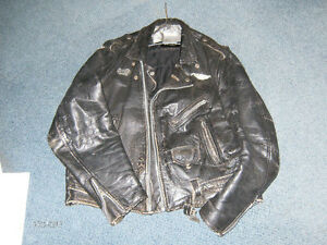 LEATHER--BiKE JACKET