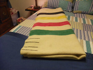 HBC Multi Stripe Wool Blanket