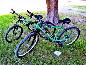 "2-Supercycle 18 Speed MTB Bikes.1. ""Anvil"" 1. ""Vice"""