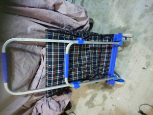 Folding shopping cart new for sale