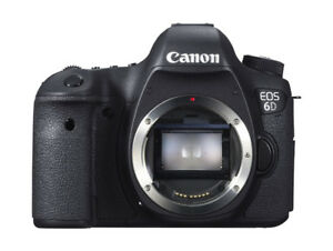 Canon 6D Full Frame body with accessories(2 SD cards,  bag, etc)
