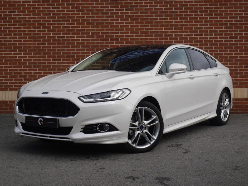 2015 15 ford mondeo 2 0 tdci titanium powershift 5dr hatchback platinum white in ripley. Black Bedroom Furniture Sets. Home Design Ideas
