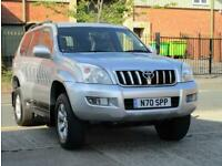 2005 Toyota LAND CRUISER 3.0 LC5 8-SEATS D-4D 5DR AUTOMATIC Estate Diesel Automa