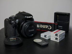 Canon T3i + 40mm f/2.8 STM