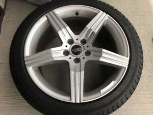 Audi Winter Tire w/rims