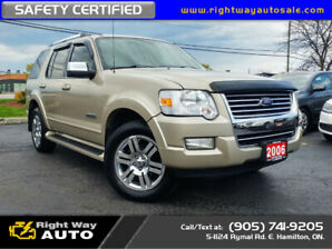 2006 Ford Explorer Limited | 4X4 | SAFETY CERTIFIED