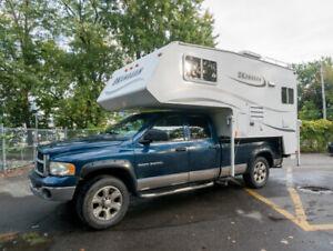 Truck and camper - 2003 RAM 2500 et 2005 Okanagan truck camper