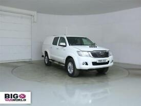 2015 TOYOTA HI-LUX INVINCIBLE 4X4 D-4D 171 DOUBLE CAB WITH TRUCKMAN TOP PICK UP