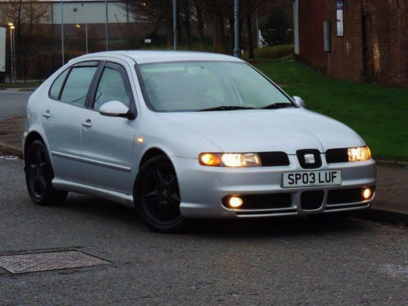 2003 seat leon 1 8 t 20v cupra 5dr in glasgow gumtree. Black Bedroom Furniture Sets. Home Design Ideas