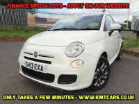2013 Fiat 500 1.2 S (69bhp) (s/s) ONLY 44000mls Full Hist - KMT Cars