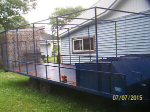 Heavy Duty Trailer or  Hunt Camp Trailer