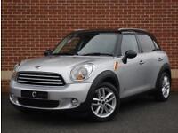 2012 12 Mini Contryman 1.6 Cooper D (Chili) ALL4 5dr (Silver, Diesel)