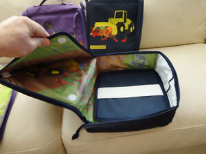 Boys Bulldozer Constructive Eating transforming Lunch Tote - NEW Kitchener / Waterloo Kitchener Area image 6
