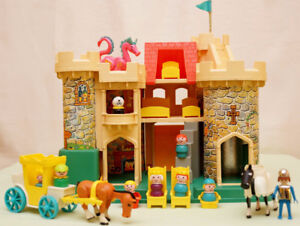 Vintage Fisher Price Play Castle