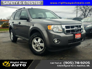 2009 Ford Escape XLT   4WD   SAFETY & E-TESTED