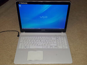 Sony Vaio Touch Screen Laptop