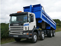 Scania 114c 380 8 X 4 Steel Body Tipper