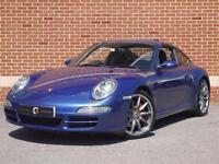 2006 56 Porsche 911 3.8 997 Carrera S Tiptronic S 2dr (Blue, Petrol)