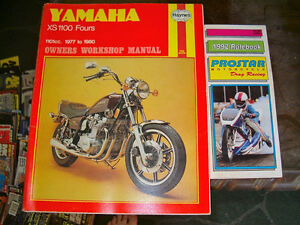Yamaha XS 1100 Fours Manual