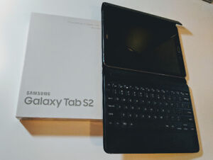 "Samsung Tab S2 9.7"" 32GB WiFi + Keyboard + Cover - $360"