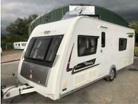 2014 Elddis Affinity 574 4 berth fixed single beds caravan