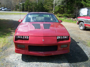 1985 iroc z28 trade for 1987 or older chev,gmc 4x4
