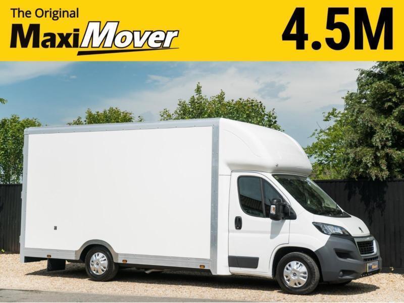 a0f835c605 2018 (68) Peugeot Maxi Mover 4.5m (14ft 9) Enterprise Low Floor Luton Van