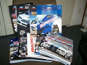 FORD RACING PERFORMANCE CATALOGS