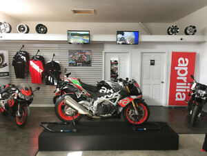 APRILIA FALL SALE SAVE UP TO $4000 FINANCING FROM 0% ALL MODELS