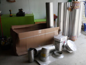 OBO Chimney Lining System components various