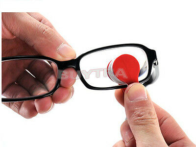 Glasses Sunglasses Eyeglass Spectacles Cleaner Cleaning Brush Wiper Wipe Kit JG
