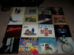23 ROCK RECORDS FOR SALE NEW PRICE