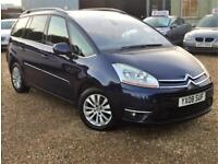 Citroen Grand C4 Picasso Exclusive 2.0HDi 16v EGS Warranty delivery Px welcome