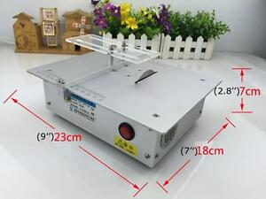 Portable Mini Electric Bench Saw Hand Cutting Machine For Woodworking DIY 020038