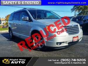 2009 Chrysler Town & Country Touring | SAFETY & E-TESTED