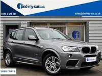 2012 12 BMW X3 2.0TD ( 184bhp ) Auto 2 xDrive20d M Sport With FULL BMW HISTORY