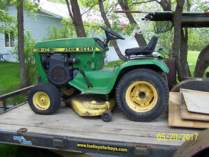 WANTED: John Deere 214 garden tractor manuals