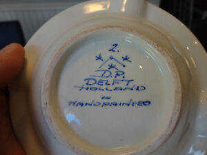 Vintage Holland handpainted Ashtray & Cup from the 60's -$6/Both Kitchener / Waterloo Kitchener Area image 4