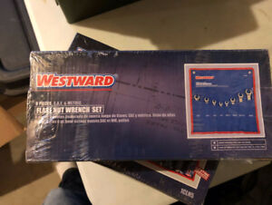 Westward 8 Piece Flare Nut Wrench Set - Metric / SAE