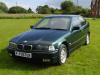 BMW 318 Tds SE Compact E36 Turbo Diesel Hatchback, Low Mileage