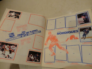 1982 NHL Hockey Sticker Album Kitchener / Waterloo Kitchener Area image 3